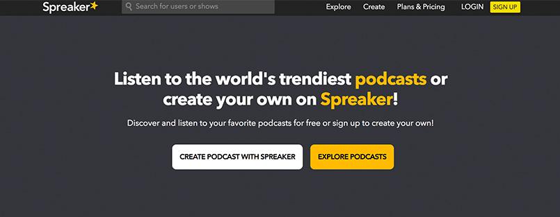 Podcast Hosting Platform Spreaker