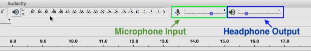Microphone Input and Headphone Output