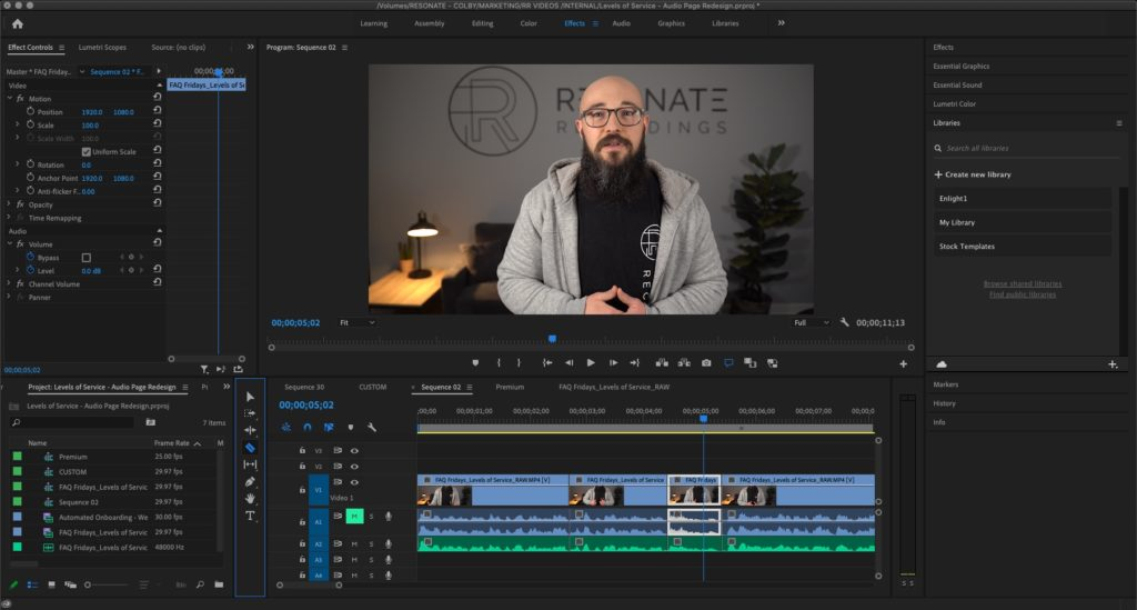 Edit Your Video Podcast