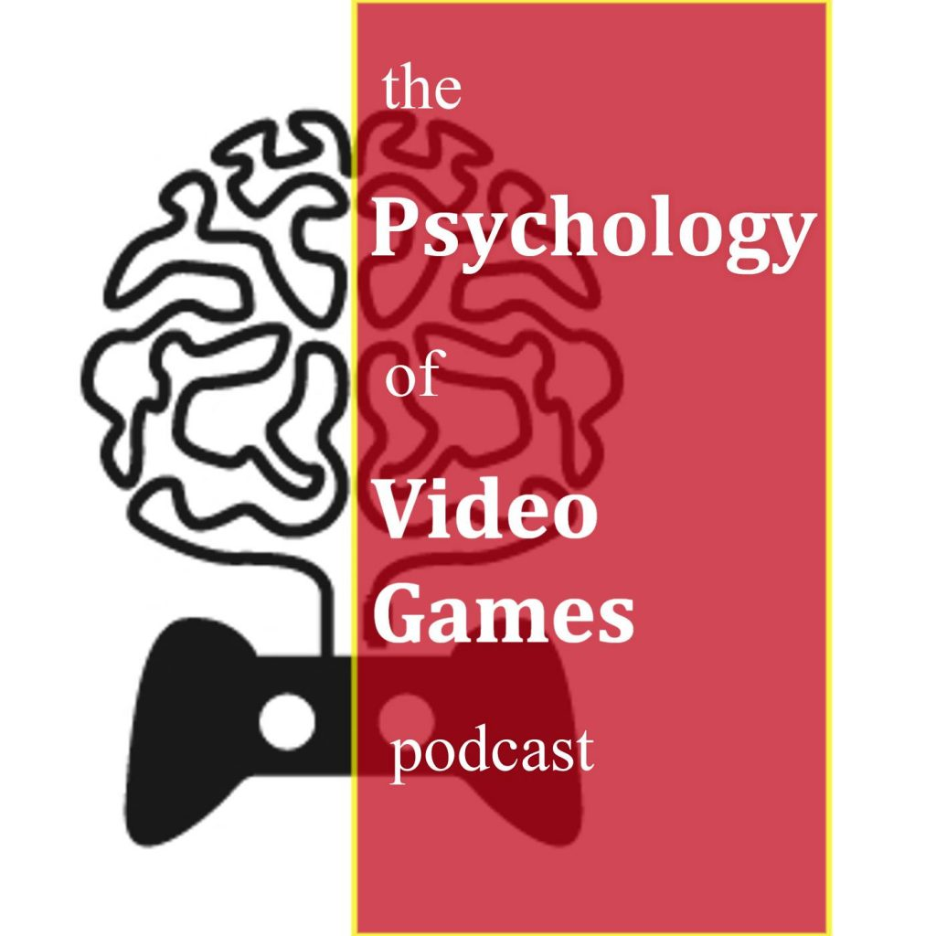 The Pyschology of Video Games Podcast Cover Art