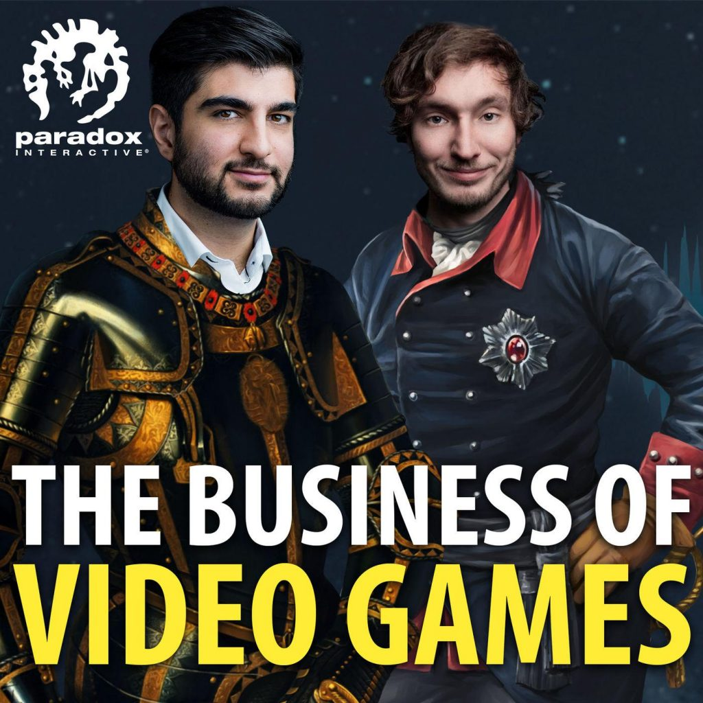 The Business of Video Games Podcast Cover Art