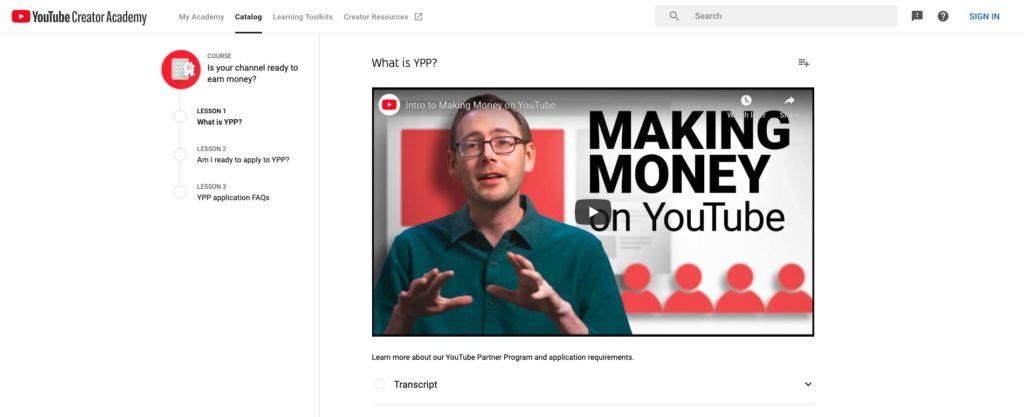 YouTube Partner Program for Monetizing Your Podcast