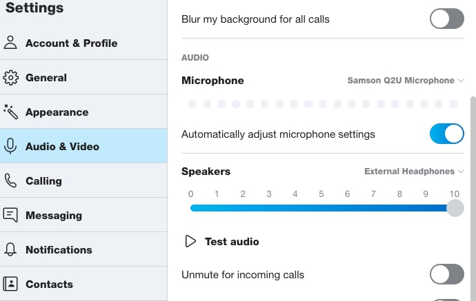 Optimize Skype Settings