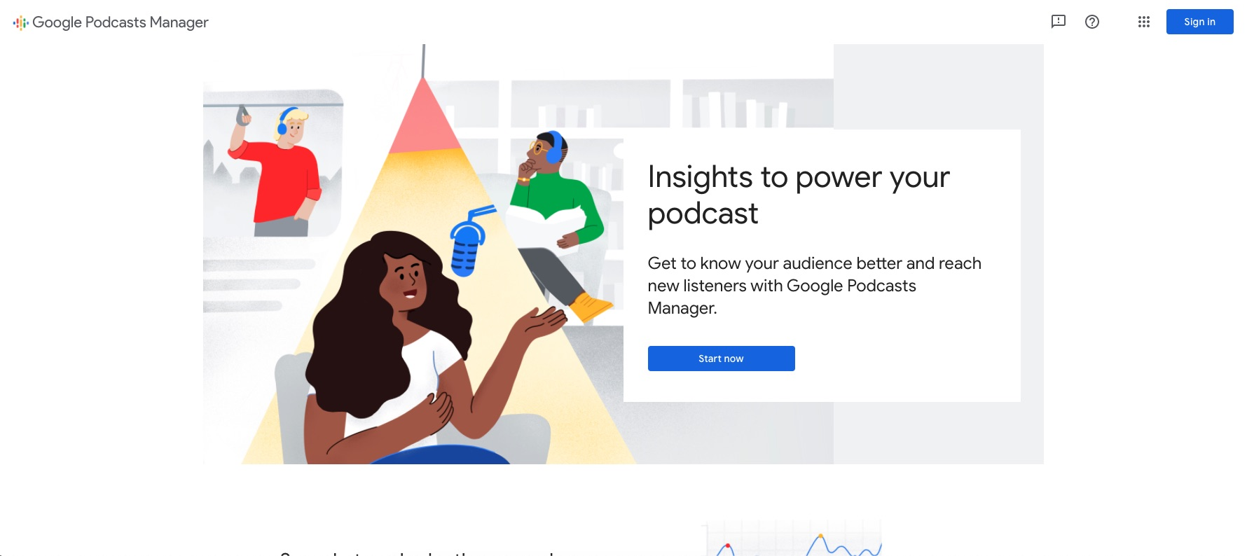 Google Podcasts Manager Analytics