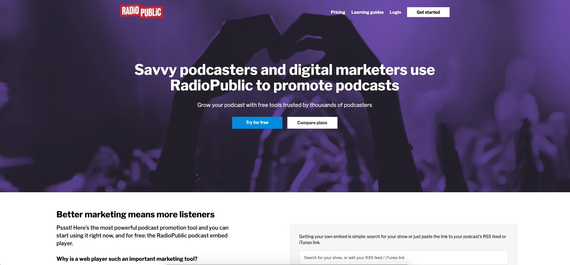 RadioPublic Podcast Analytics