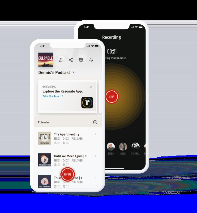 Resonate mobile app