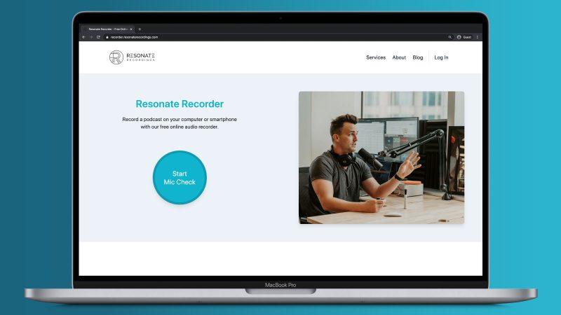 Resonate Recorder - Free Online Voice Recorder